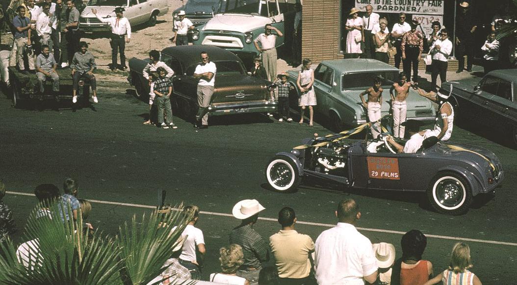 1965 street scene 29 Palms CA Pioneer Days parade.jpg