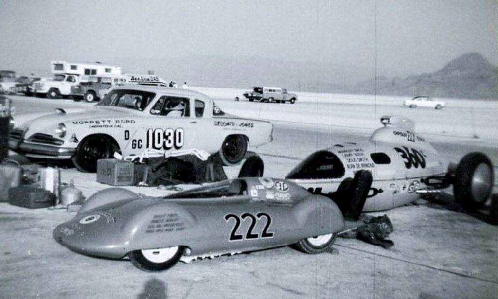 1966 - #1030, #222 & #360 B&W (by Rudy Perez).jpg