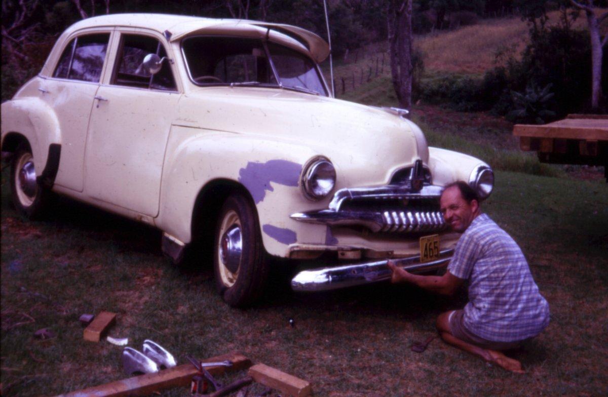 1967 Dad & FJ Holden repairs.jpg