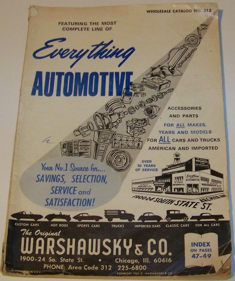 Old Catalogs For Sale JC Whitney Warshawsky Edlebrock & More