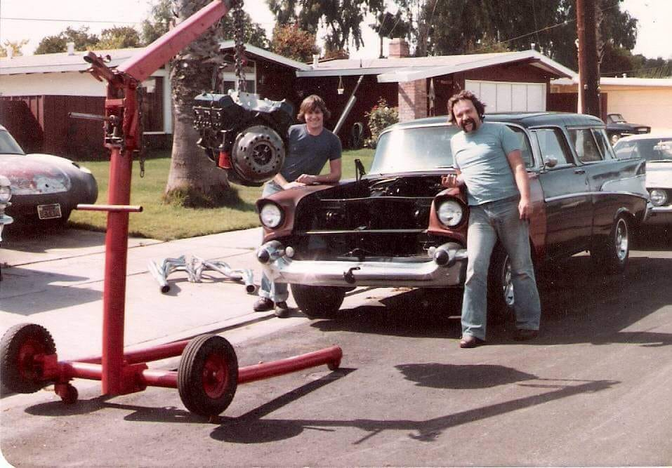 1972 Chevy Nomad engine swap in the street.jpg