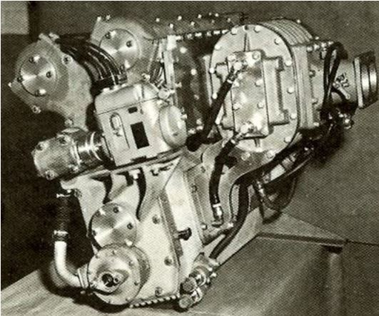 1engine9a Pictured above is a 1965 supercharged Offy , which developed 525 bhp..JPG