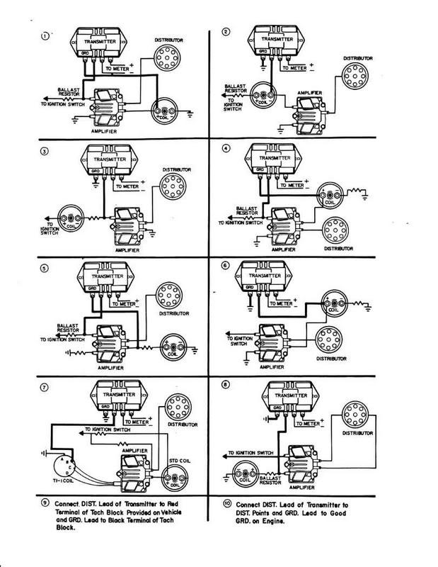 Technical Need Help Wiring Sun Transmitter Tach The Hamb: Vintage Sun Tach Wiring Diagram At Diziabc.com
