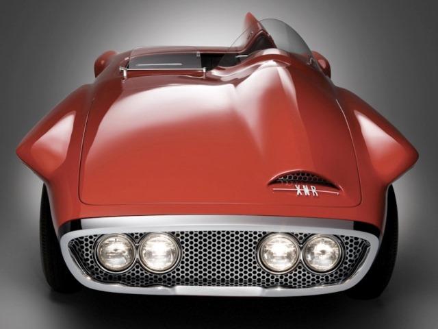 2 - 1960 Plymouth XNR Concept Car (front).jpg