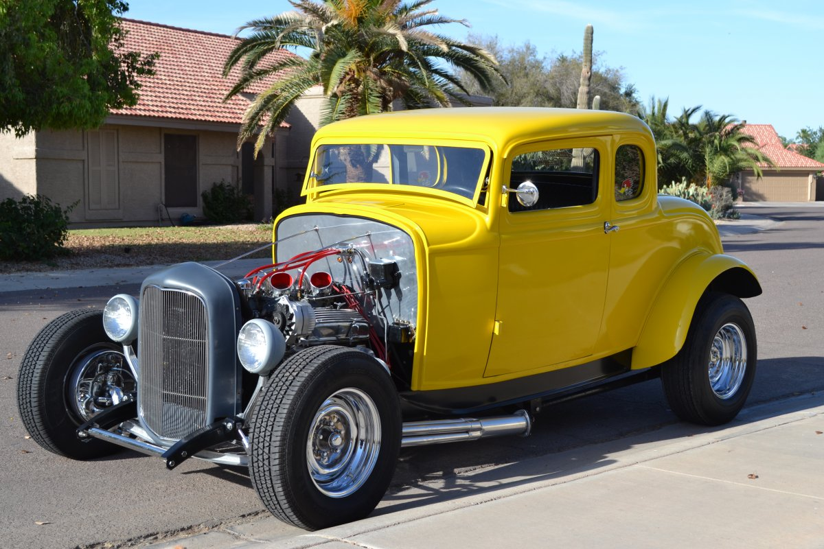 1932 ford coupe american graffiti clone the h a m b. Black Bedroom Furniture Sets. Home Design Ideas