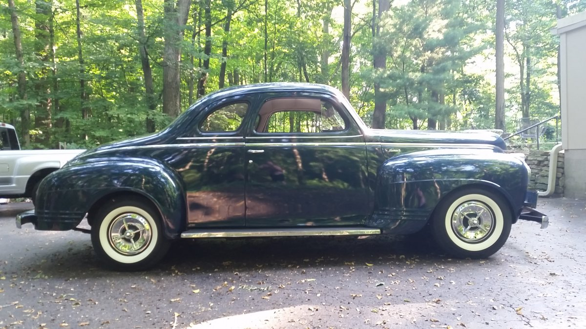 84 1941 Plymouth Coupe For Sale On Special Deluxe 4 Door Vehicle Id Information Needed 41 P15 D24 Forum Other