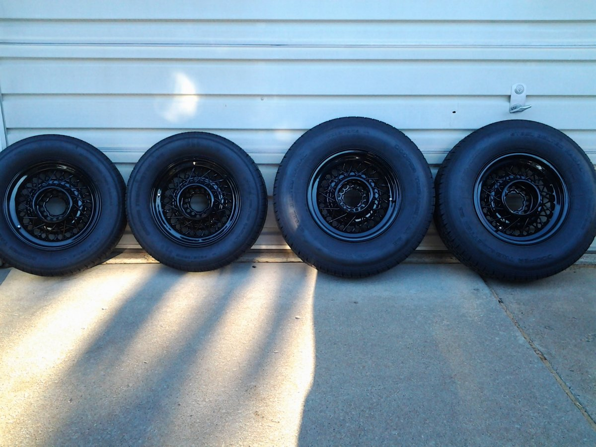 Rally America Hot Rod Wire Wheels & Tires   The H.A.M.B.