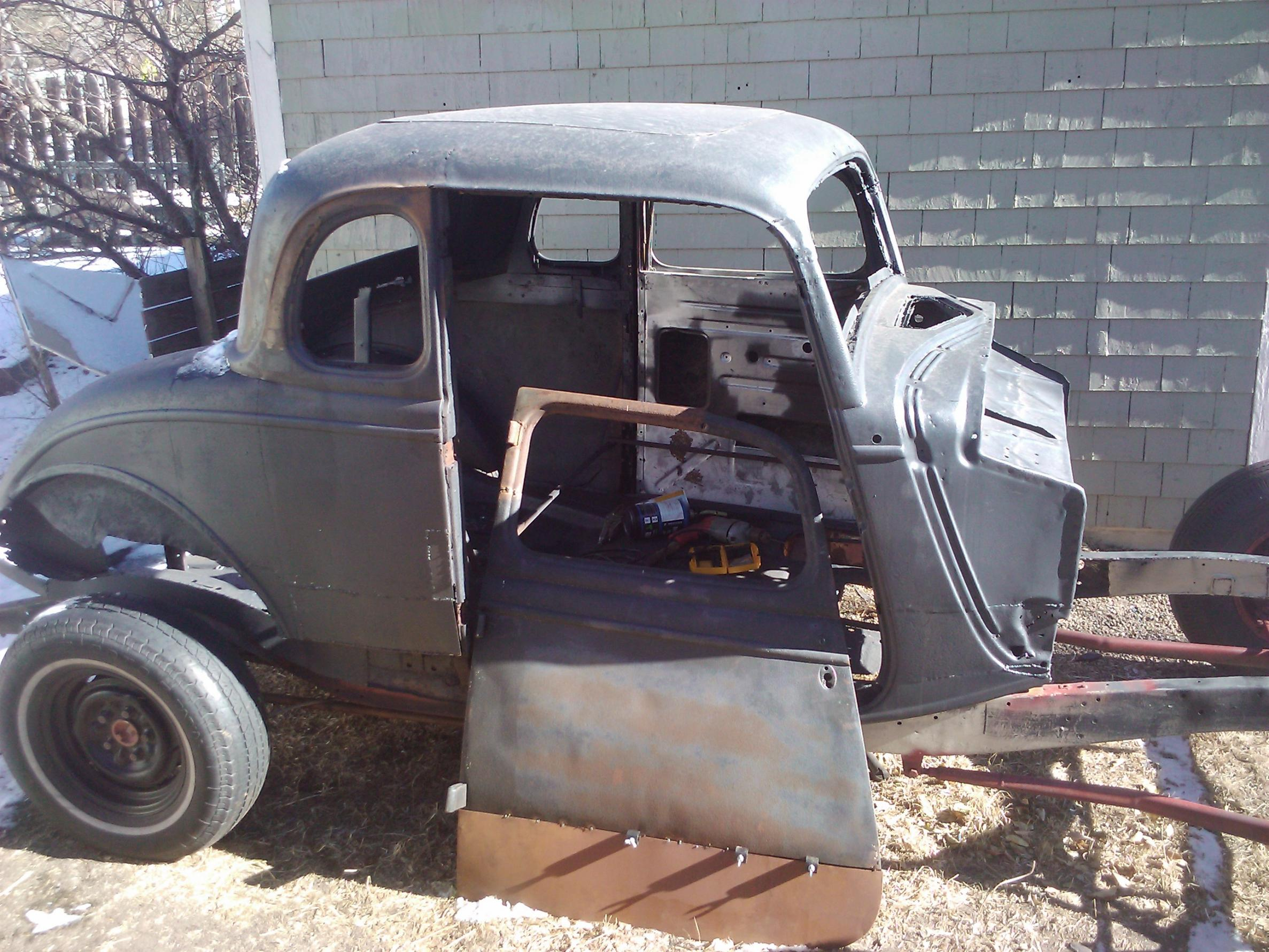 New Build... 33 34 Ford 5 window Coupe. 1933 1934 | The H.A.M.B.