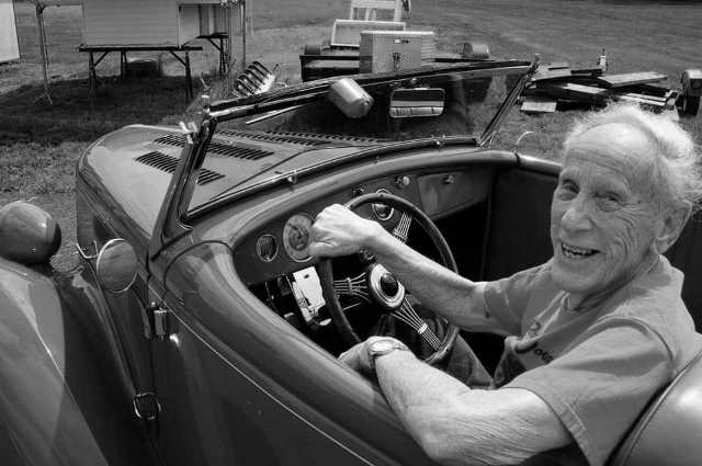2012 - Spence Murray in his 1936 Ford ('78 R&C Project Custom) by Spike Kilmer (3).jpg