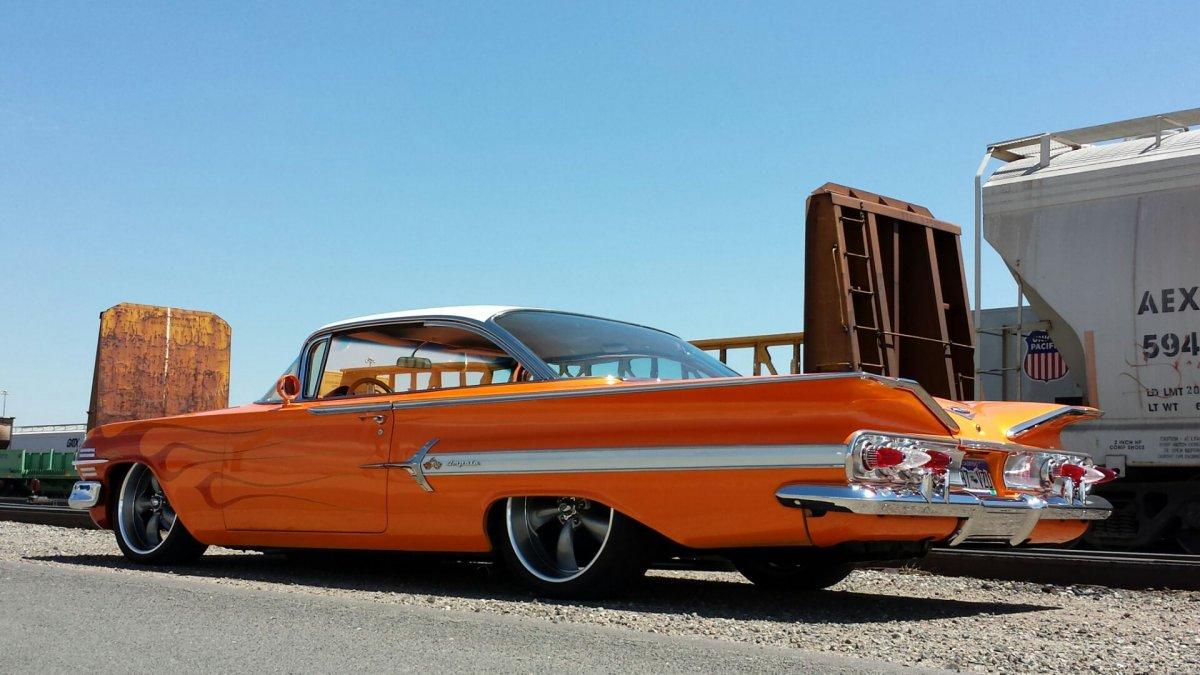 Impala 1960 chevrolet impala ss : 1960 Chevy Impala 2 Door Hard Top Bagged Custom Low Rod | The H.A.M.B.