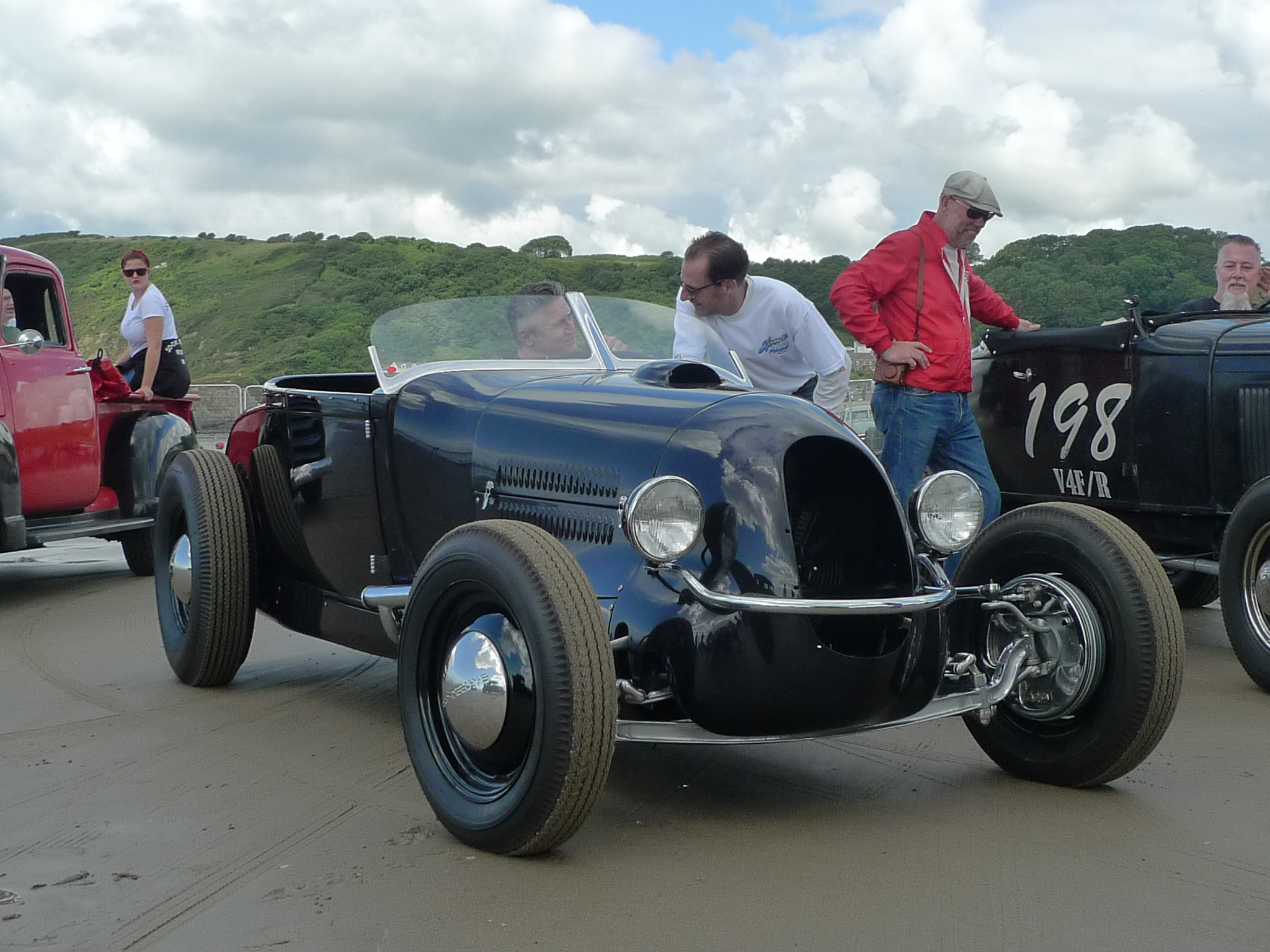 Hot Rods 29 Track Nose Roadster The H A M B