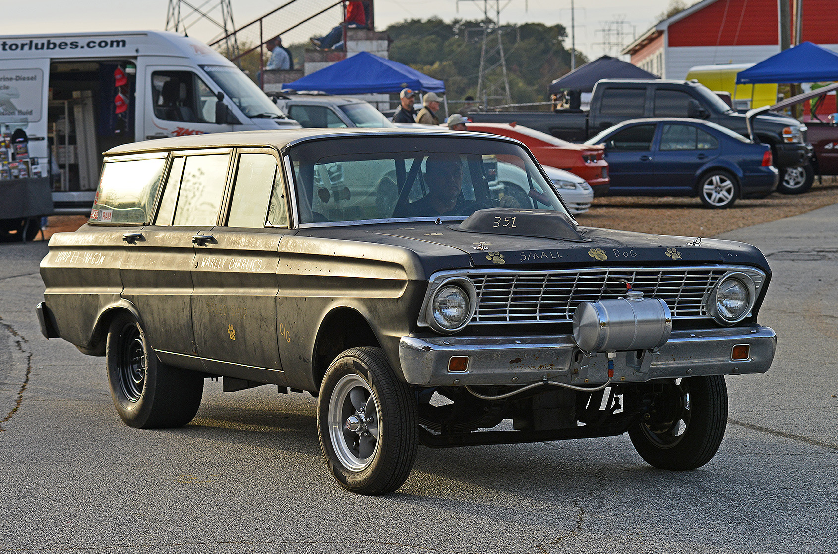 "2014-11-8 Gasser_1224 The ""Hoopty Wagon\"" Ford Falcon Gasser_Fl.jpg"
