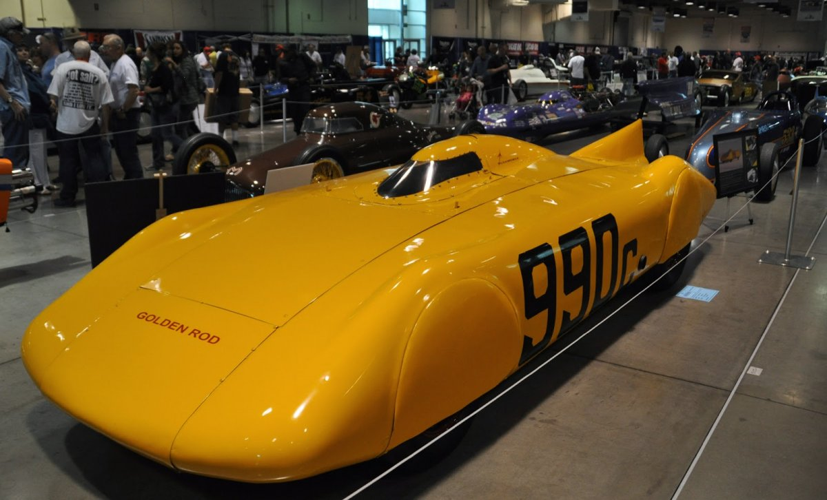 2014 Grand National Roadster Show golden rod.JPG