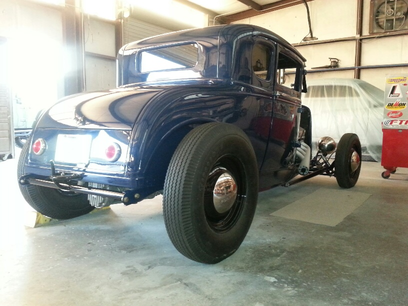 1931 Ford Coupe Trad Hot Rod The H A M B