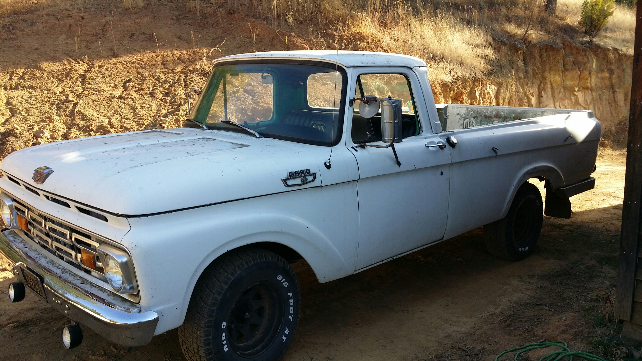 1963 ford f100 unibody long bed full 54 parts the h a m b. Black Bedroom Furniture Sets. Home Design Ideas