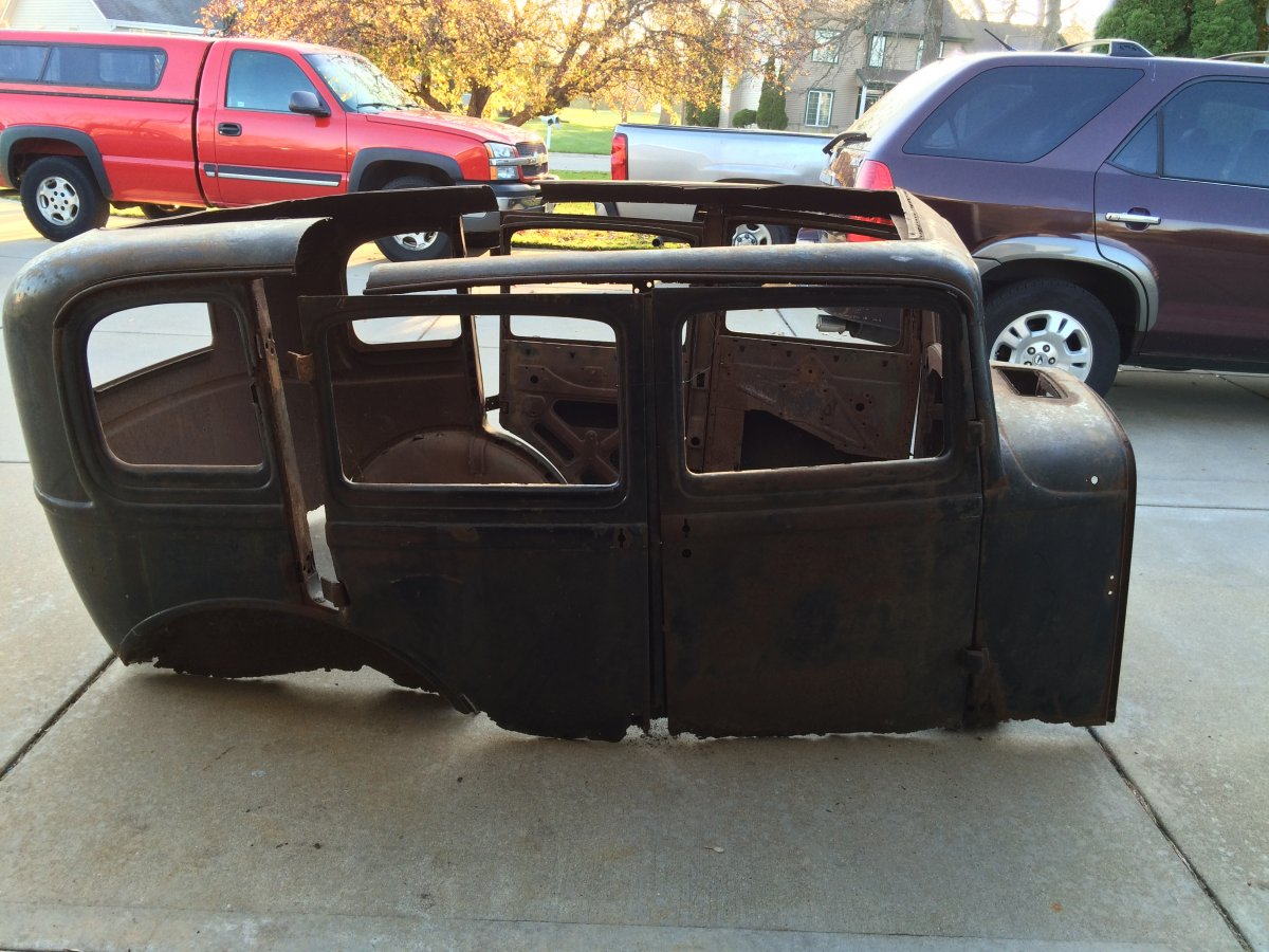 1932 ford 4 door body for sale the h a m b for 1932 ford four door sedan