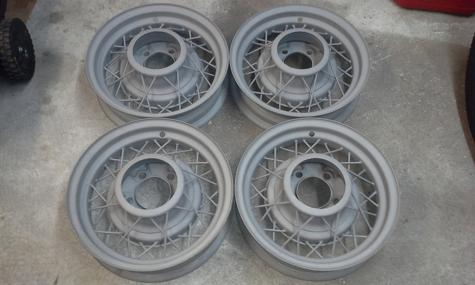 1935 ford wire wheels ** SOLD ** | The H.A.M.B.