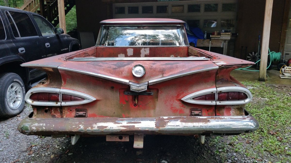 1959 el camino for sale as parts car or project the h a m b. Black Bedroom Furniture Sets. Home Design Ideas