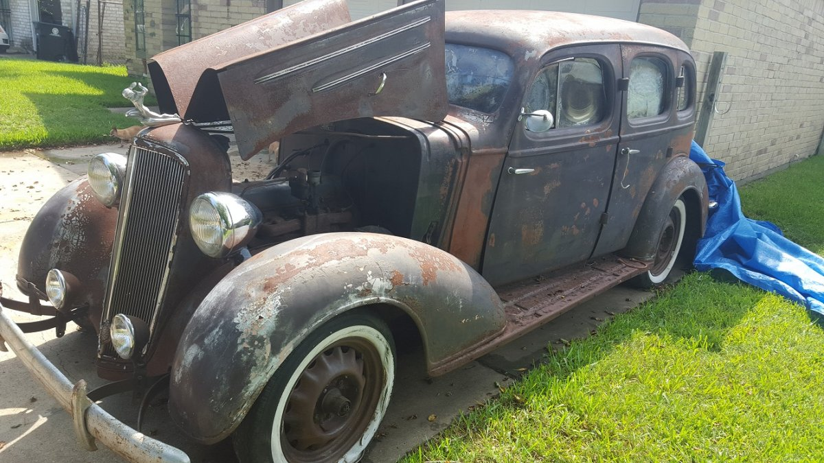 1935 Chevrolet 4dr Master Deluxe The H A M B