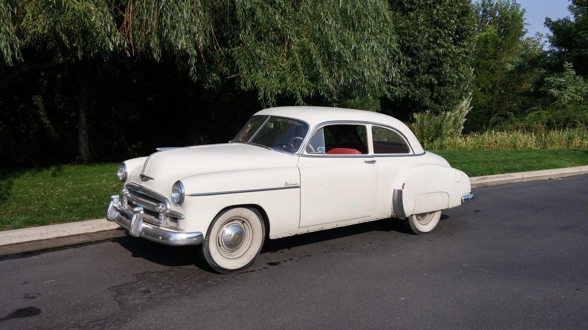 1950 chevy 2 door driver the h a m b for 1950 chevrolet 2 door
