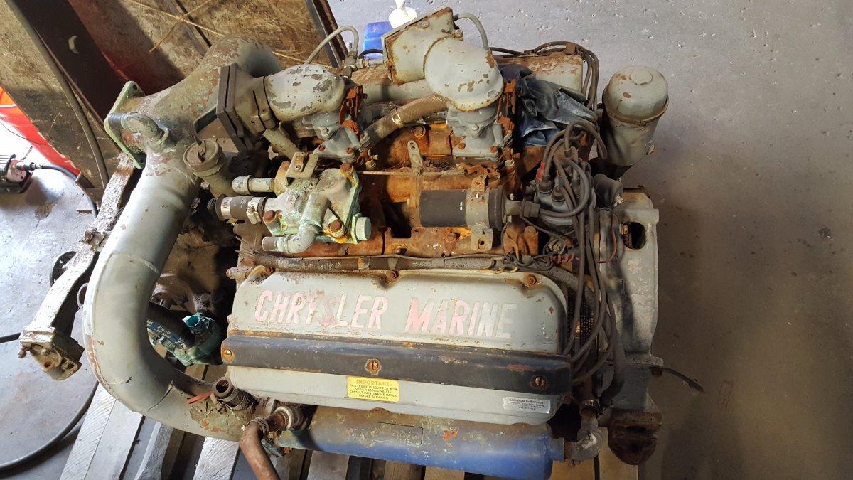 Chrysler 454 Marine Hemi Engine  | The H A M B