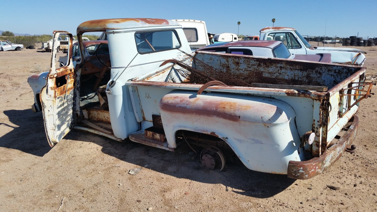 Truck 1957 chevy truck parts : 1957 chevy truck parts SMASH HIT GRILL GUARD | The H.A.M.B.