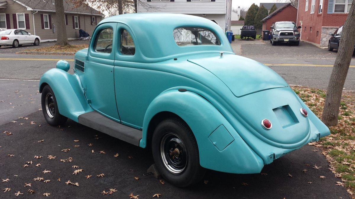 1936 ford 5 window coupe the h a m b for 1936 5 window coupe