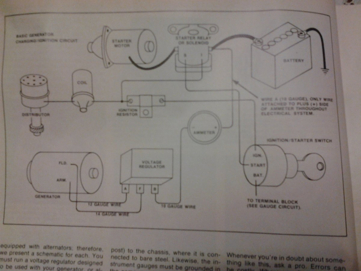 basic street rod wiring schematic technical - basic hot rod wiring diagram with chevy v8 ...