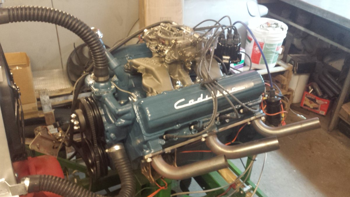 390 Cadillac Engine Motor Good Running Condition | The H.A.M.B.