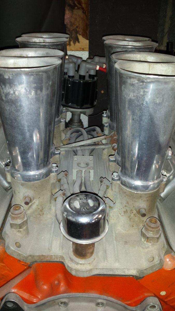 Hot Rods - throttle return springs for enderle stack