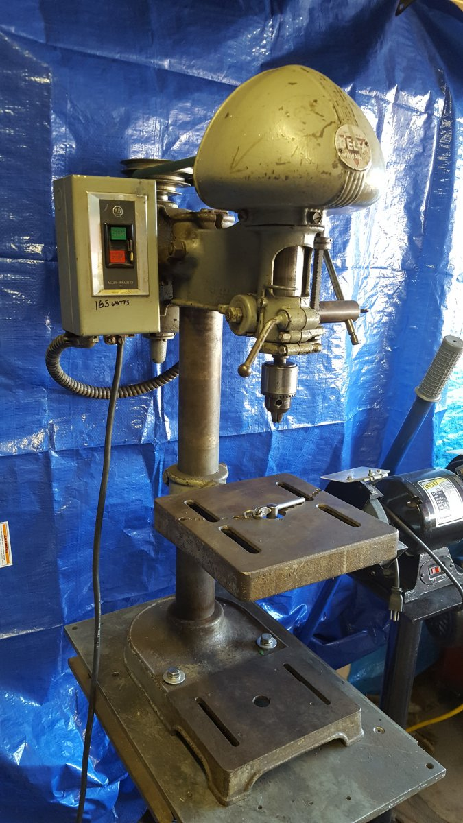 Delta Dp 220 Benchtop Drill Press The H A M B