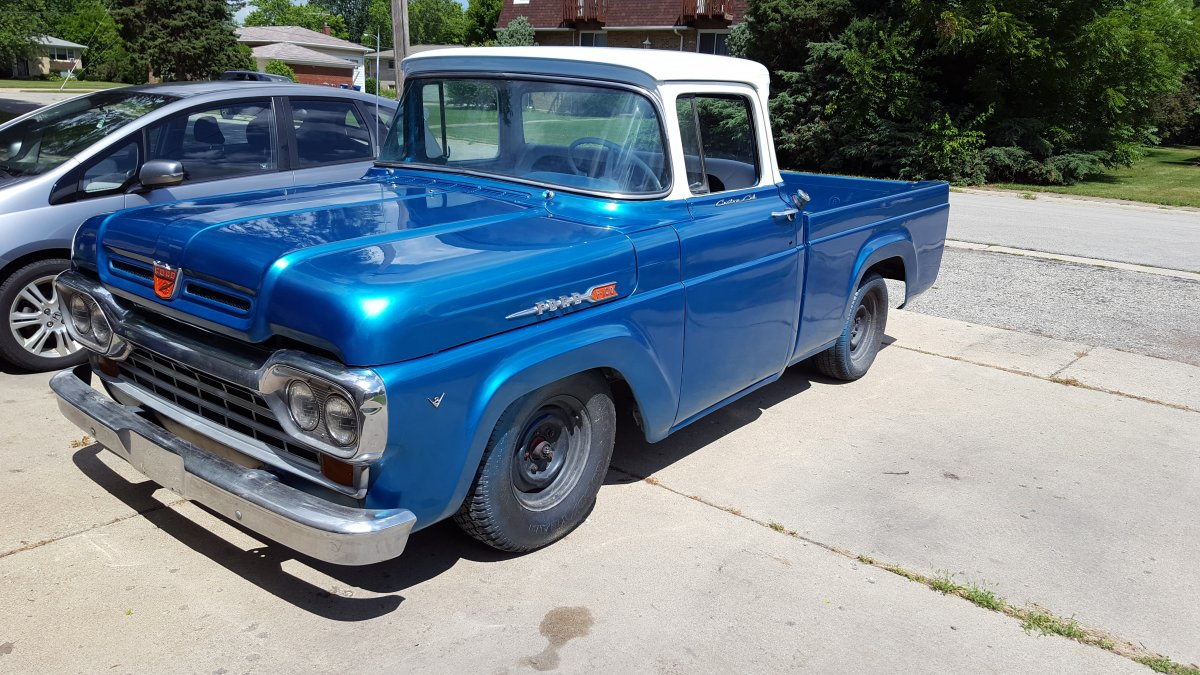 Technical 1960 Ford F100 With 390 Motor Swap Mount