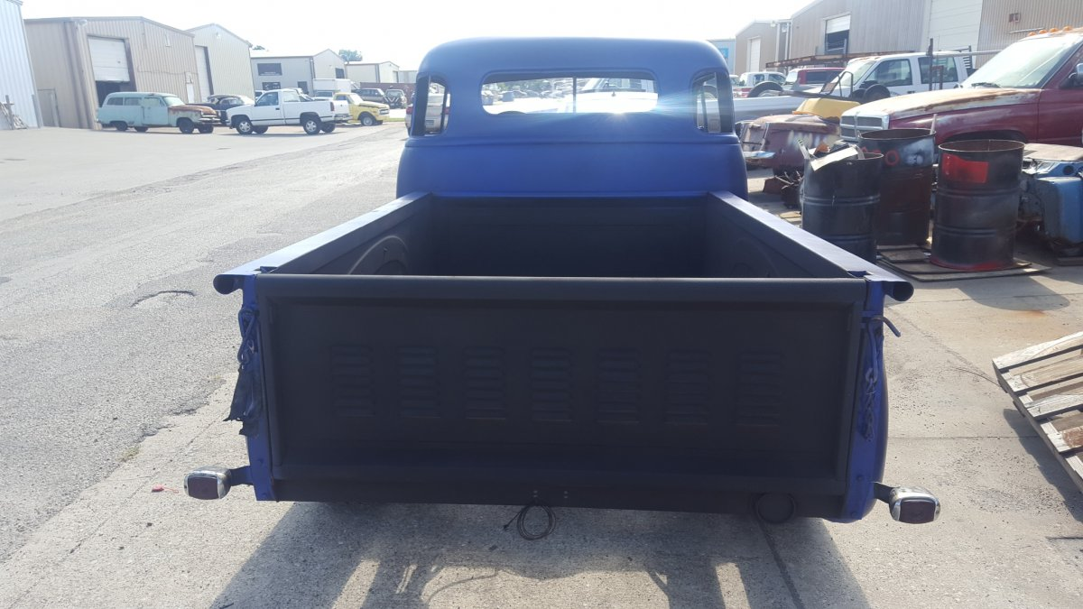 1954 Chevy Truck V8 Auto Trans Fun Driver Chopped Top The Hamb Bed 20160922 154430 154442