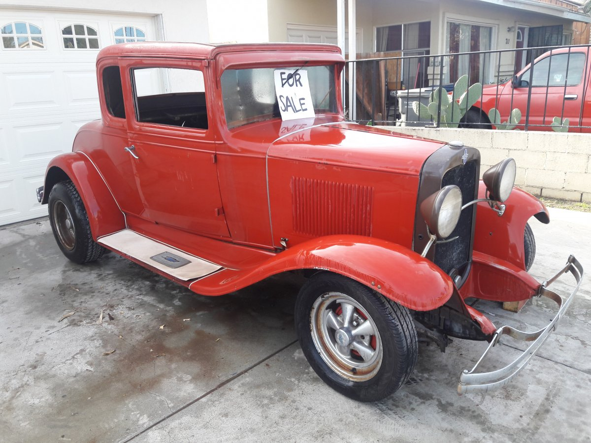 1931 chevy 5 window coupe the h a m b for 1931 chevrolet 5 window coupe