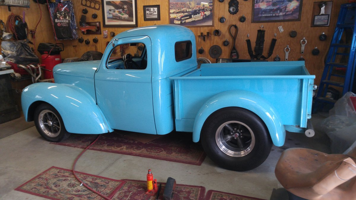 1941 willys pickup the h a m b 1937 Willys Pickup Truck 1941 willys pickup
