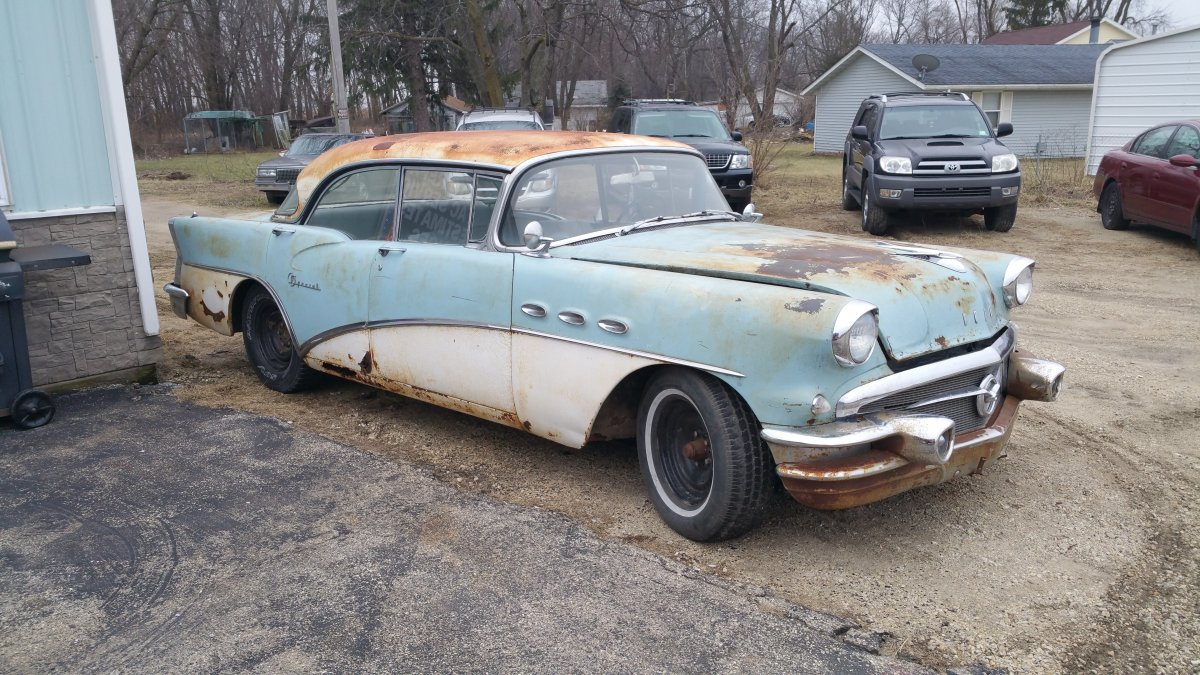 1956 buick special 4 door hardtop the h a m b
