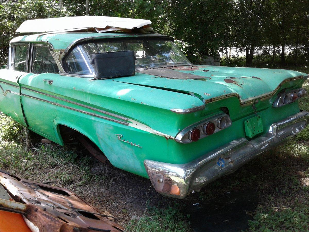 1959 EDSEL RANGER PARTS CAR
