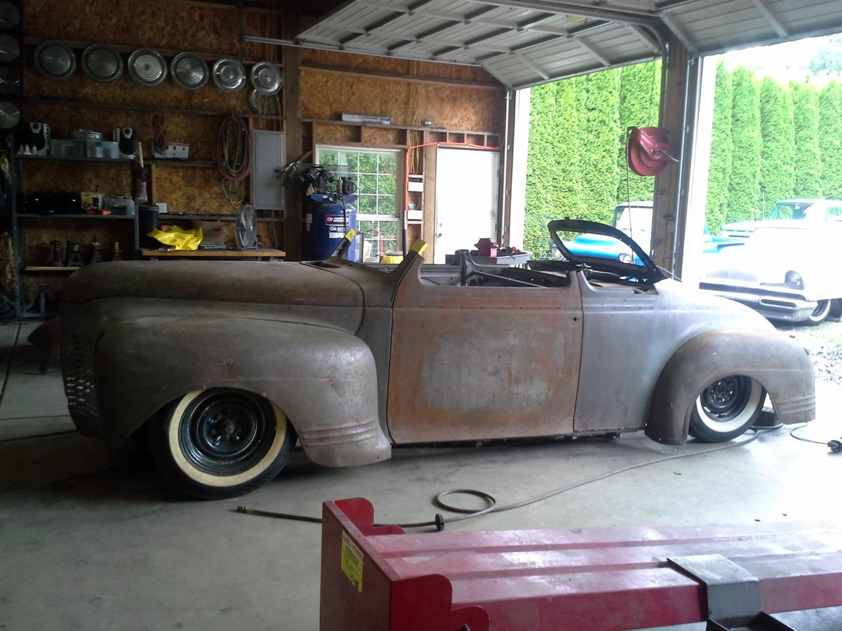 Projects 41 Plymouth Chop Build In Over My Head The Hamb 1941 Coupe Chopped 20170617 113534