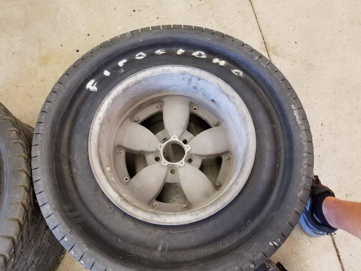 Firestone Tires Near Me >> *RARE* AMERICAN RACING MAGNESIUM S2 RIMS AND TIRES   The H ...