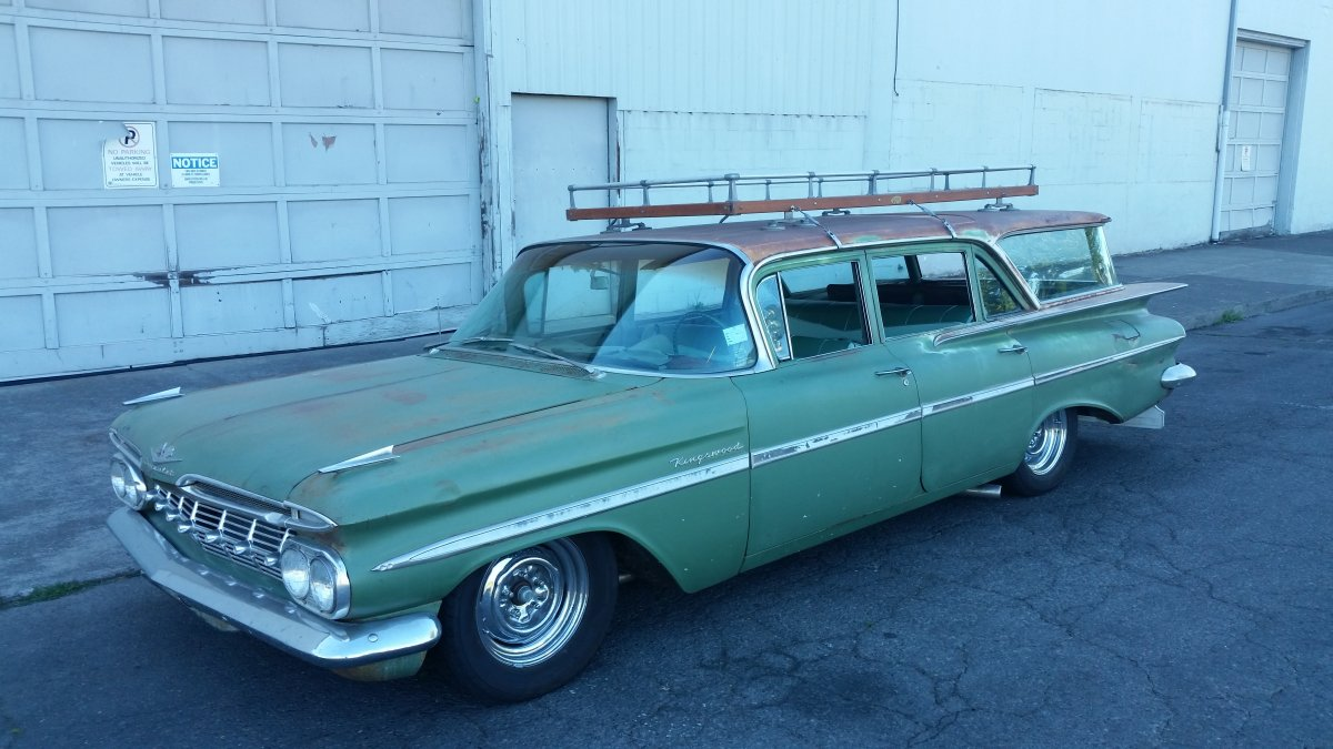 1959 chevy wagon for sale