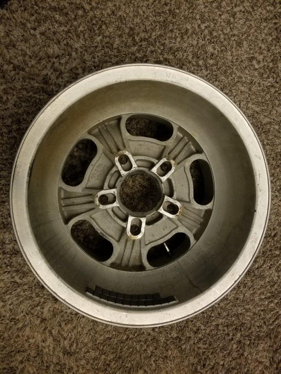 How To Polish Aluminum Wheels >> Ansen Sprint aluminum mag wheels 15x8.5 set of 2 | The H.A ...