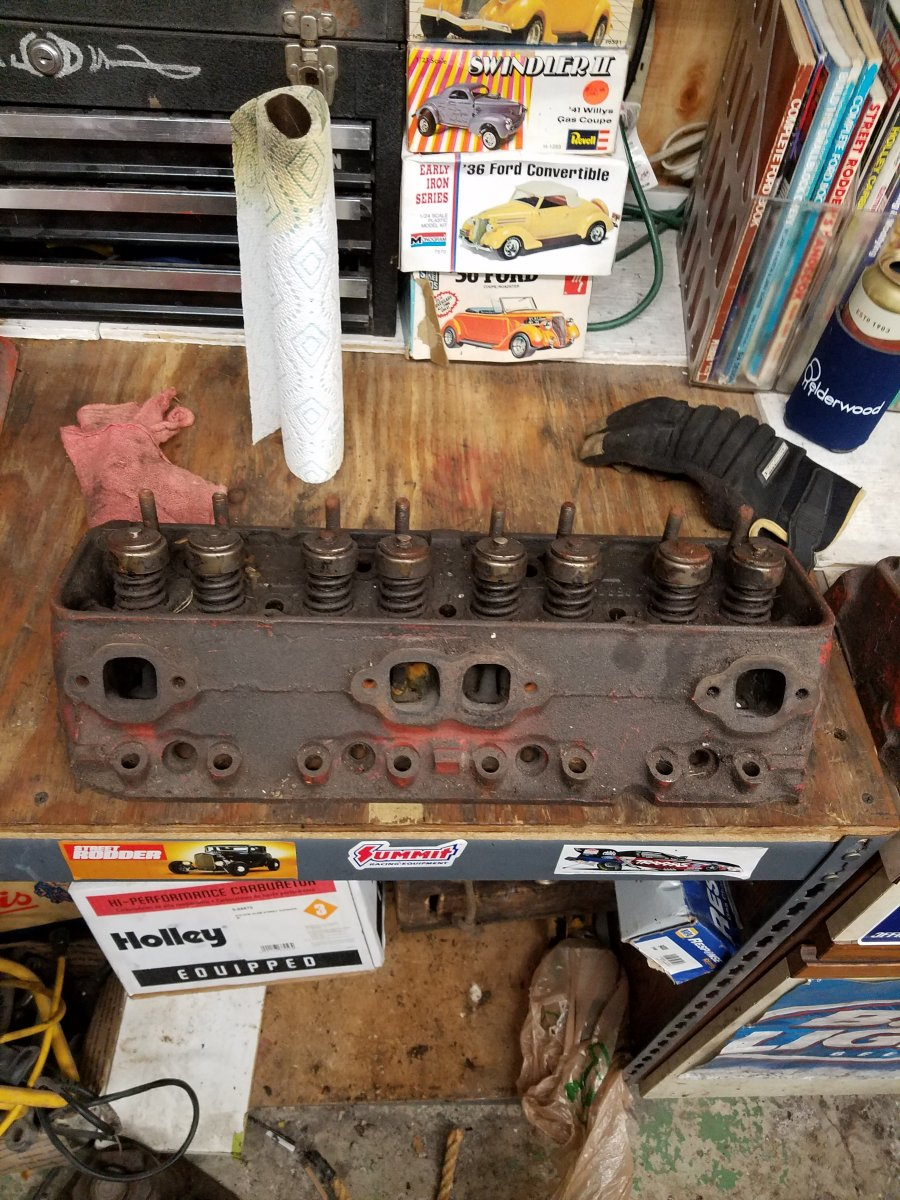 62-66 283 short block with flat top pistons | The H A M B