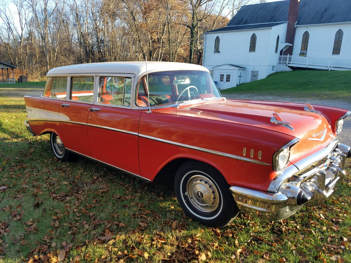 1957 Chevrolet Station Wagonrestored Driver Sold The Chevy Wagon 20171120 154453