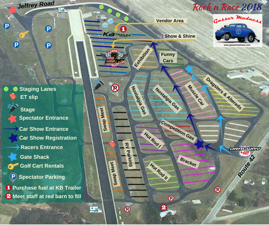 Event Coverage - Official Rock'N'Race info page 2018 Dragway