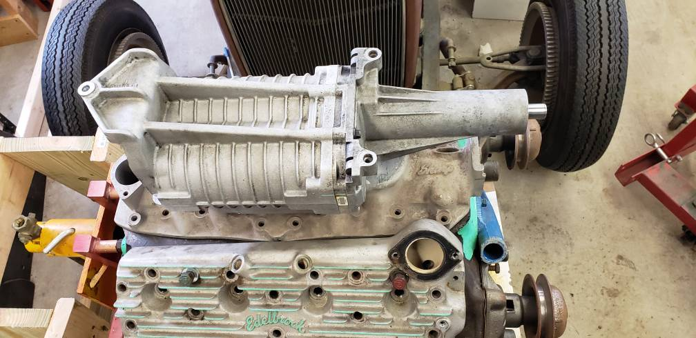 Technical - flathead build with eaton M112 blower | The H A M B
