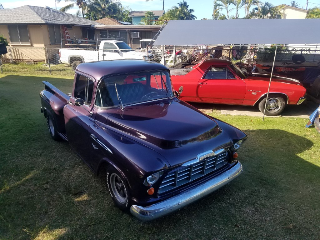 Hot Rods 56 Chevy 3100 Ma New Shop Truck Daily Driver The H A M B
