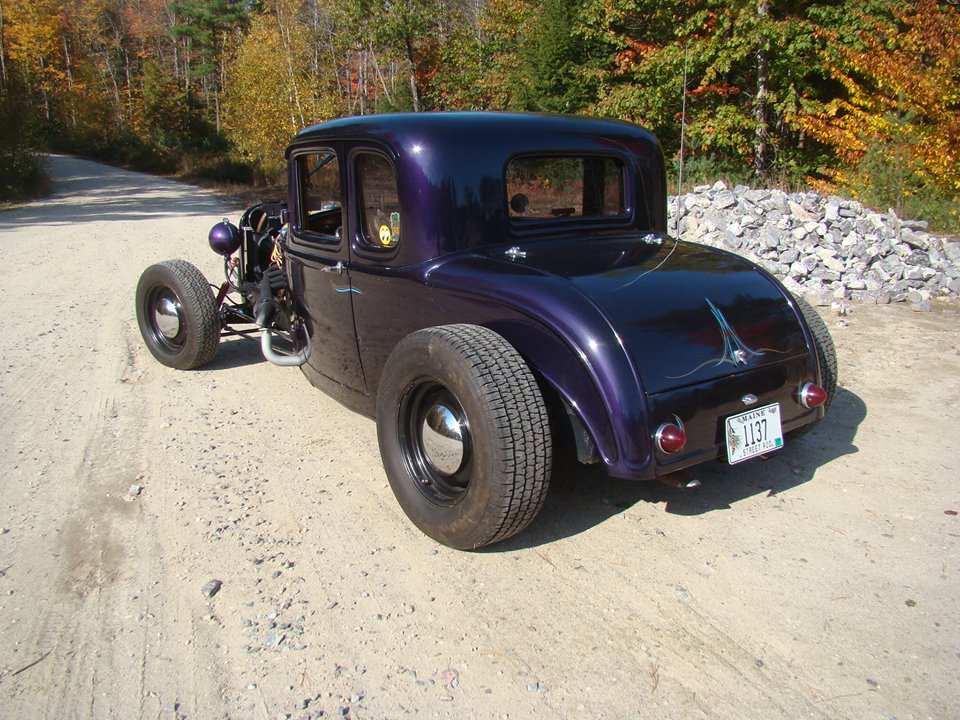 32 FORD 5 Window Coupe Original Steel Old School Hot Rod | The H.A.M.B.