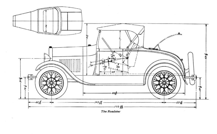 28 29 Roadster Dimensions