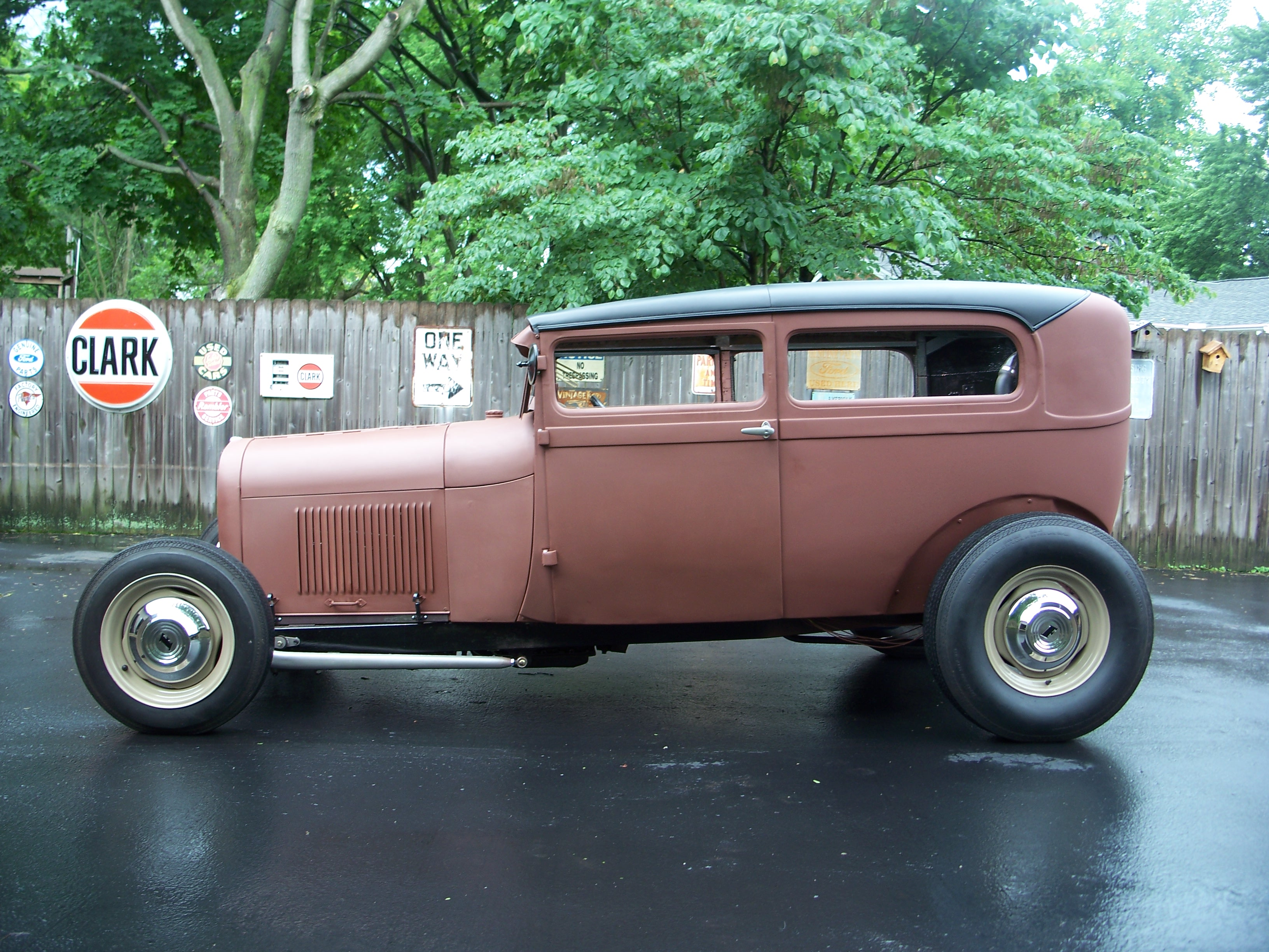 Hot Rods - 29 sedan on road and still not done | The H.A.M.B.