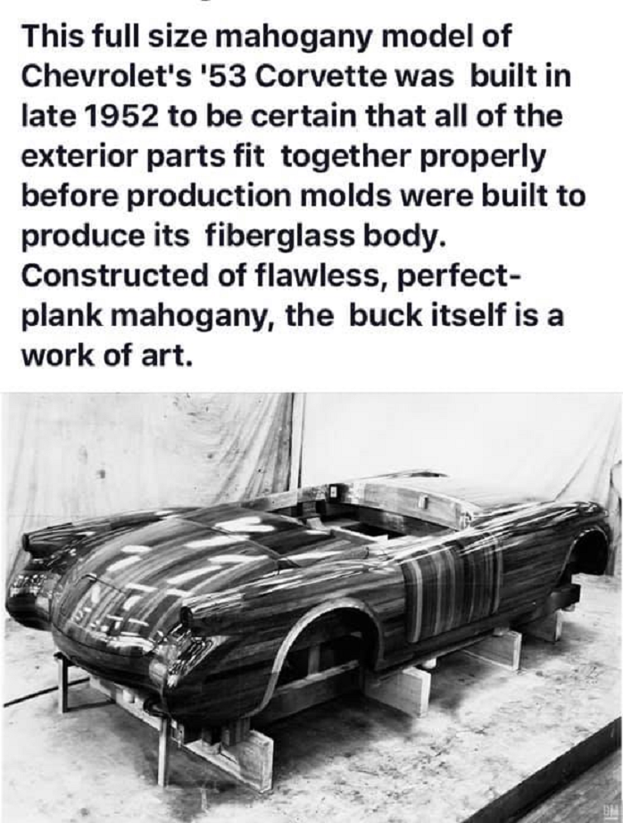 3 9 1952 mahogany model of 53 vette.png